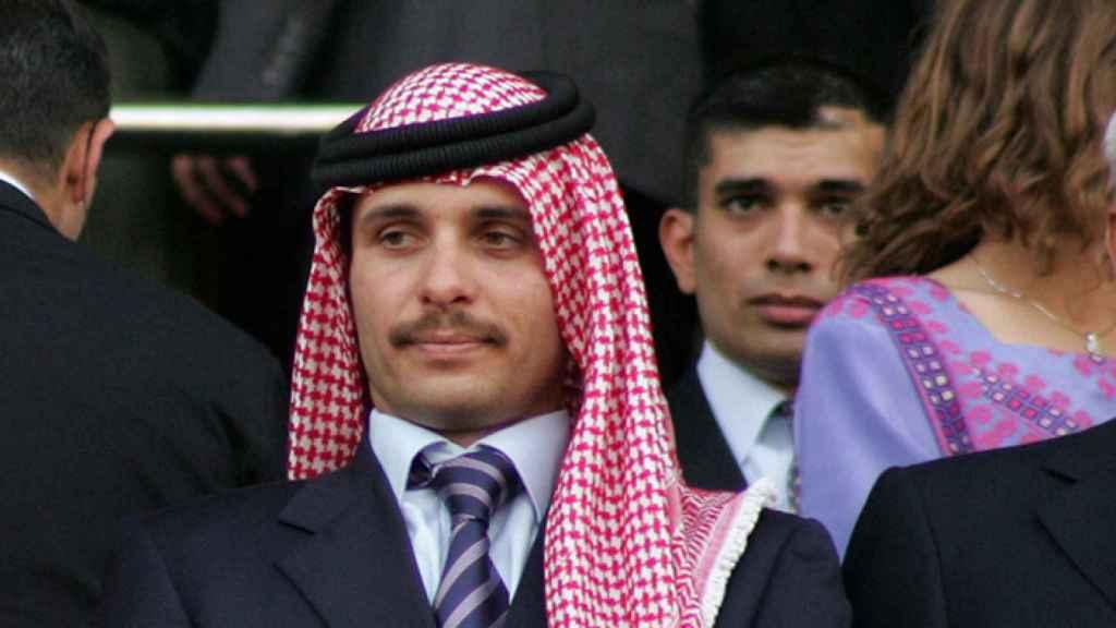 El exheredero del trono, el príncipe Hamzah.