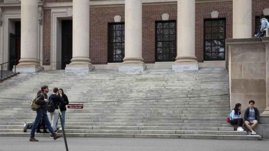 Edificio de la Universidad de Harvard.
