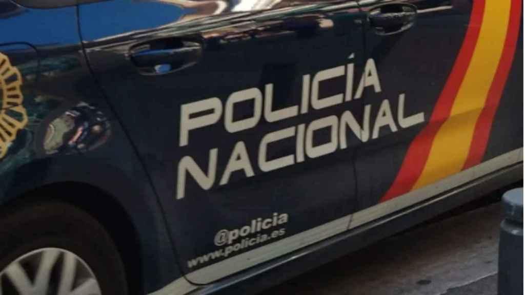Los agentes de la Policía Nacional investigan lo ocurrido.