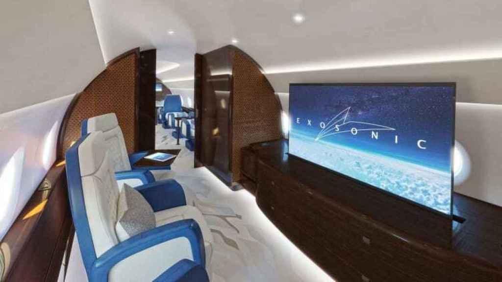 Suite privada del próximo avión presidencial de Estados Unidos