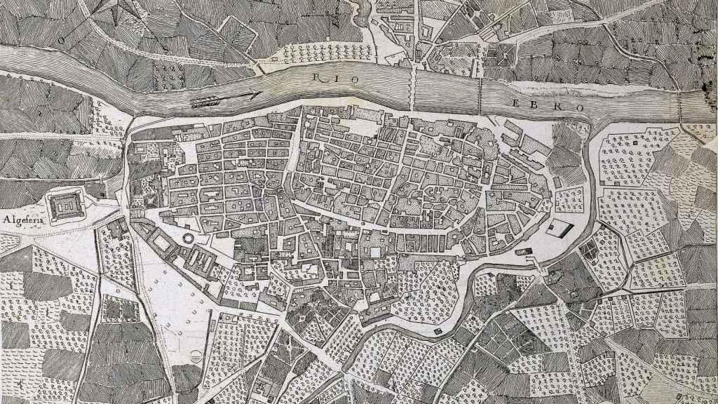 Zaragoza en el siglo XVIII.