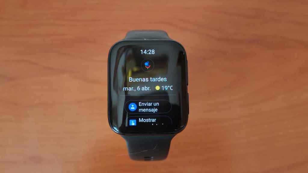 Google Assistant en Oppo Watch 46mm