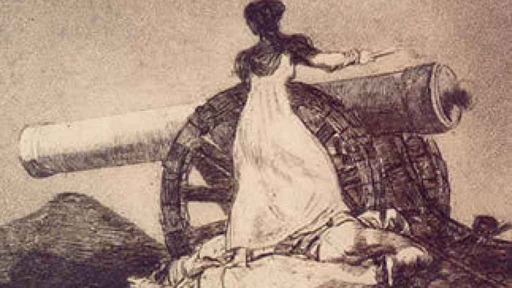 Agustina de Aragón.