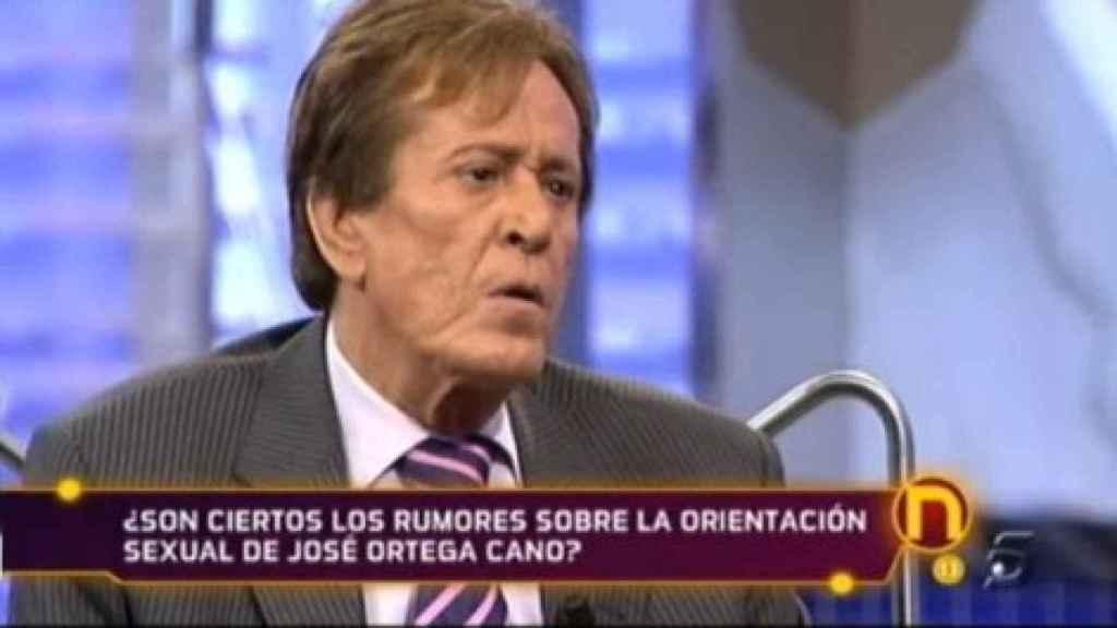 Hilario López Millán durante una entrevista en el programa 'La Noria'.