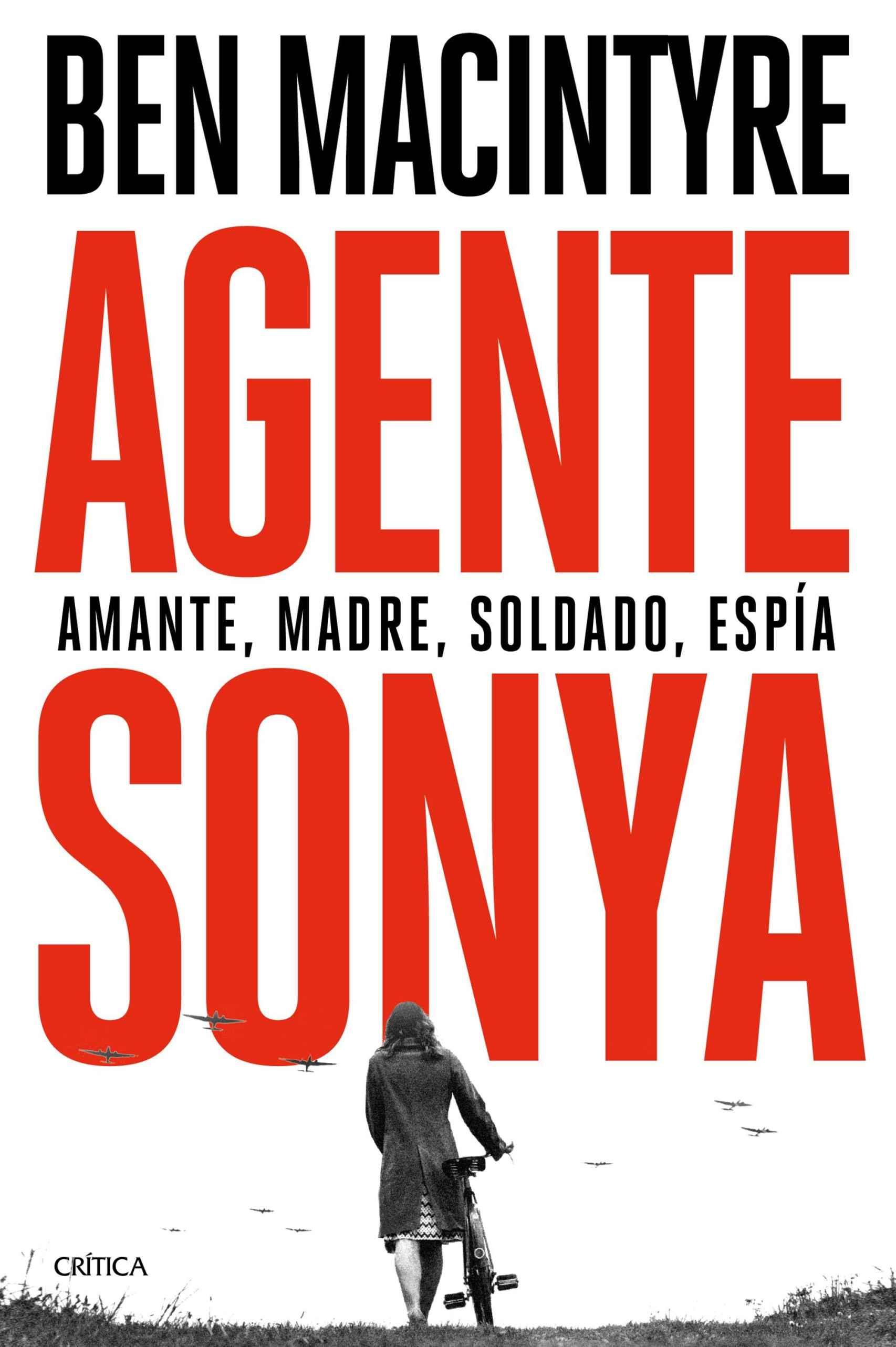Portada de 'Agente Sonya'.