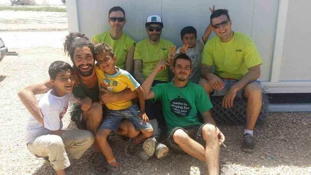 Pablo es un habitual en distintos proyectos de voluntariado.