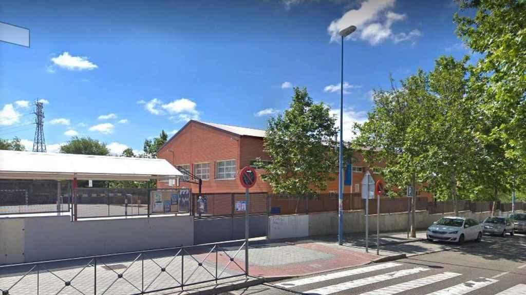 El Colegio Manuel Vázquez Montalbán de Leganés, donde varios profesores faltaron a clase.