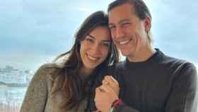 El príncipe Luis de Luxemburgo y su pareja, la abogada Scarlett-Lauren Sirgue.
