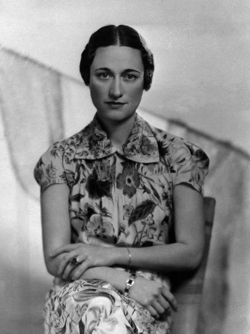 Wallis Simpson, en un posado en 1936.