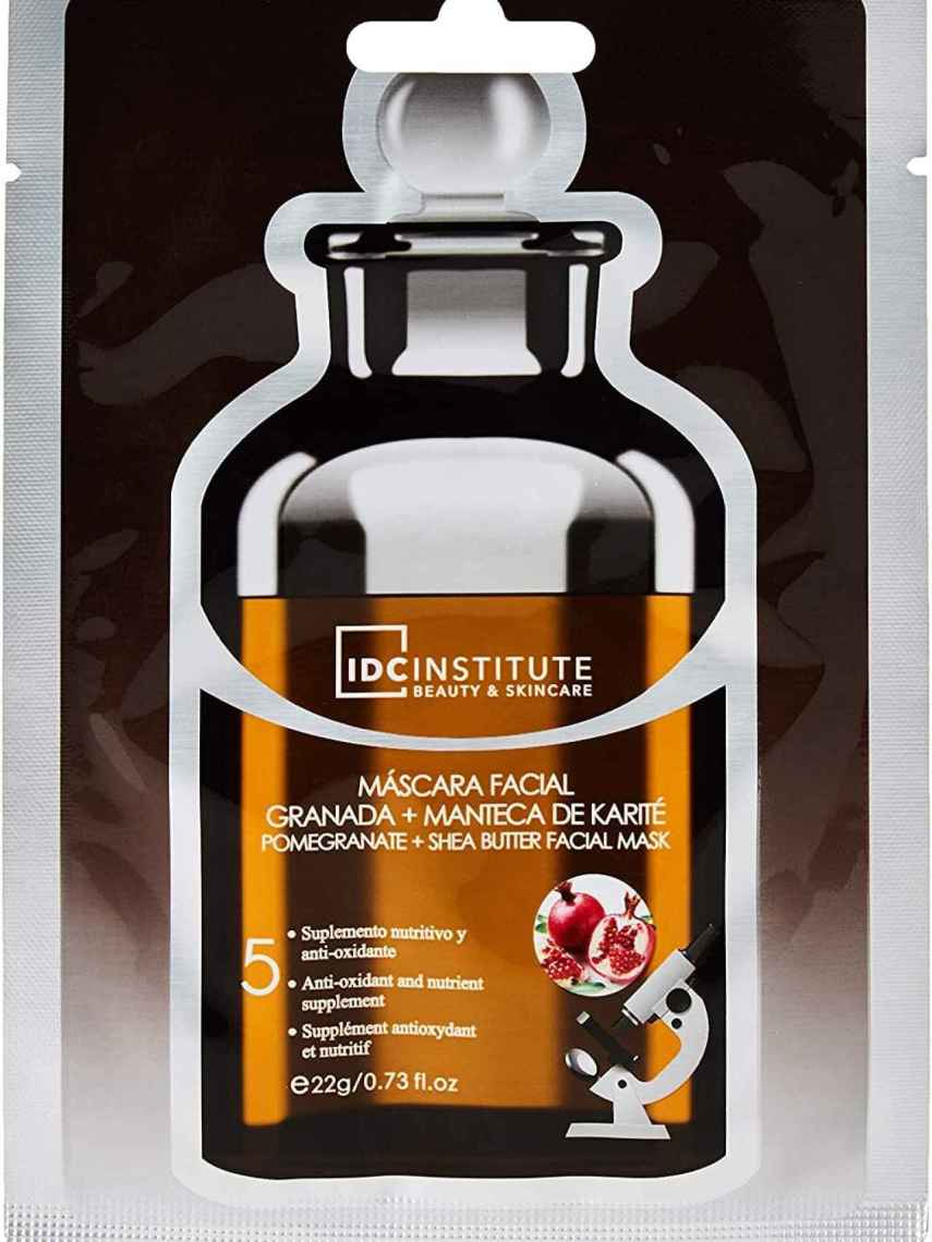 Mascarilla hidratante de IDC Institute.