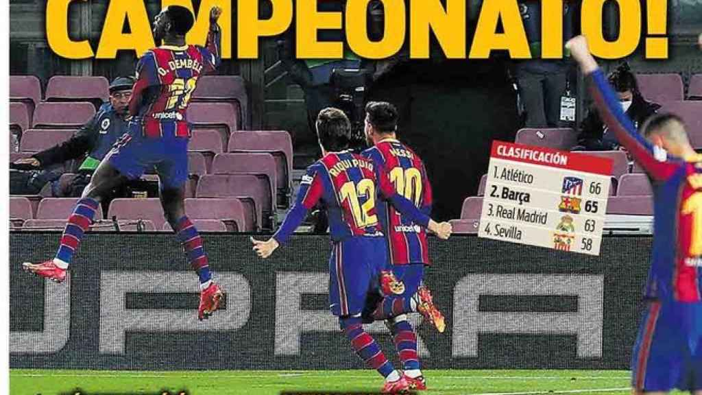 Portada Sport (06/04/21)