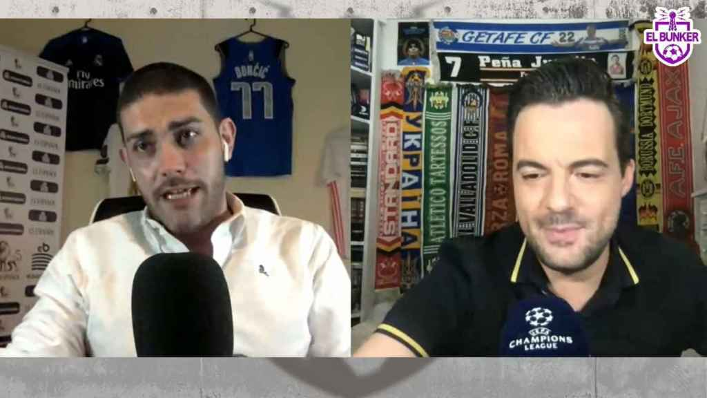 Jorge Calabrés y Nacho Peña, en El Bunker CF