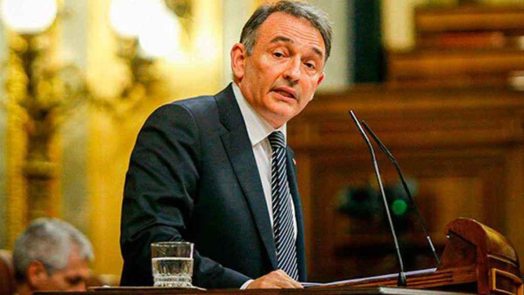 El líder del PCE y nuevo secretario de Estado para la Agenda 2030, Enrique Santiago. Efe