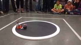 Un combate de sumo con robots en Japón. FOTO: Aprendiendoarduino.