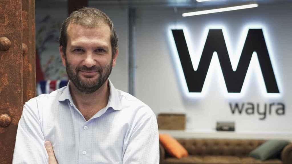 Andrés Saborido, director global de Wayra.