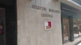 Imagen de archivo del Registro Mercantil Central.
