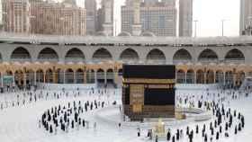Una imagen de la peregrinación a La Meca del año pasado.