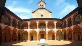 El Real Colegio de España en Bolonia, fundado en 1364.