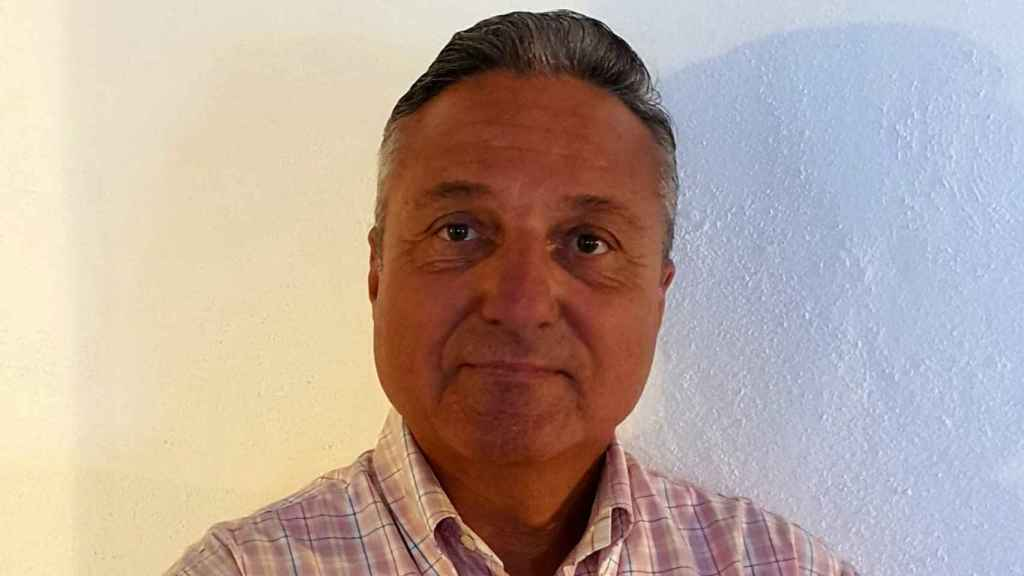 Javier Zaragosí, interino que puede perder el empleo por carecer de titulación en valenciano. EE