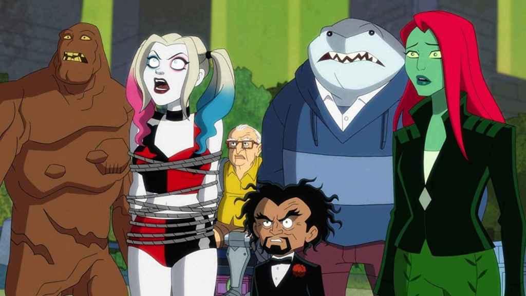 Fotograma de la serie animada  'Harley Quinn'.