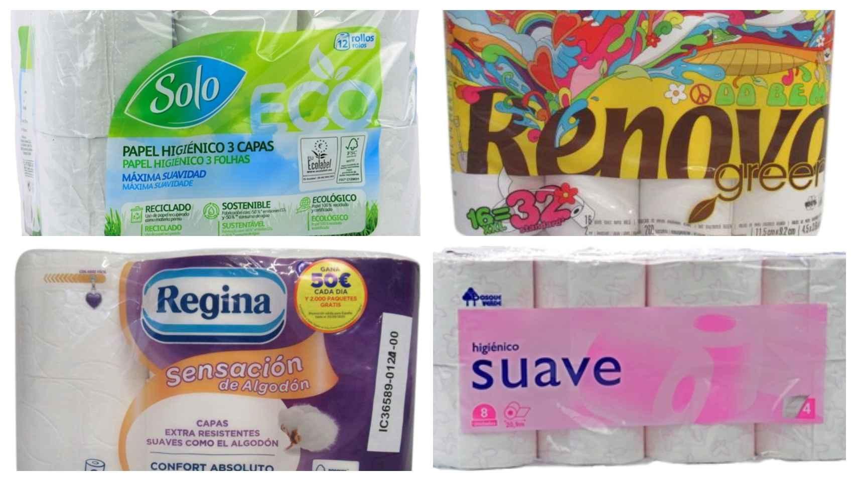 Estos son los 12 mejores rollos de papel higiénico por menos de 4 euros: el análisis de la OCU