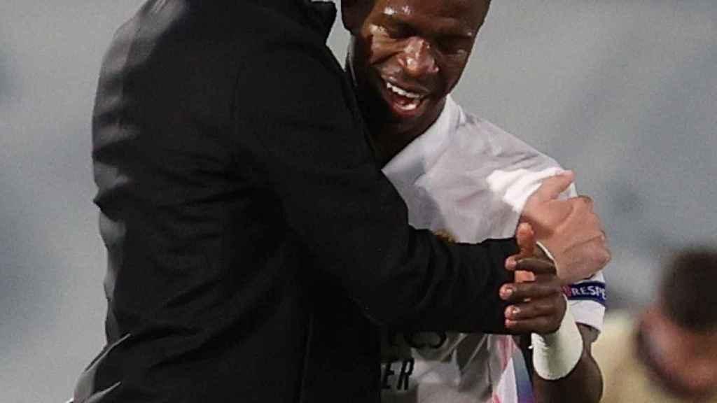 Zidane y Vinicius