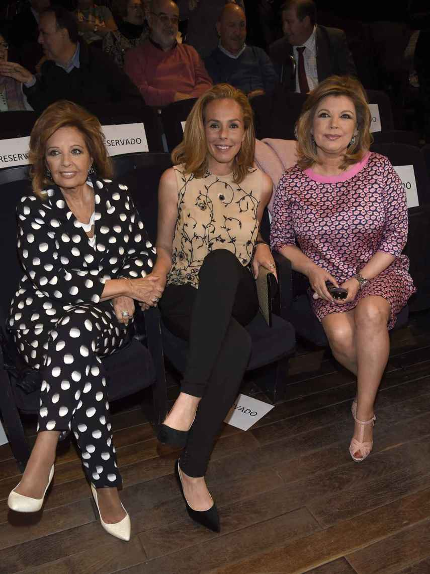 Terelu junto a su madre, María Teresa Campos, y Rocío Carrasco en una imagen de archivo.