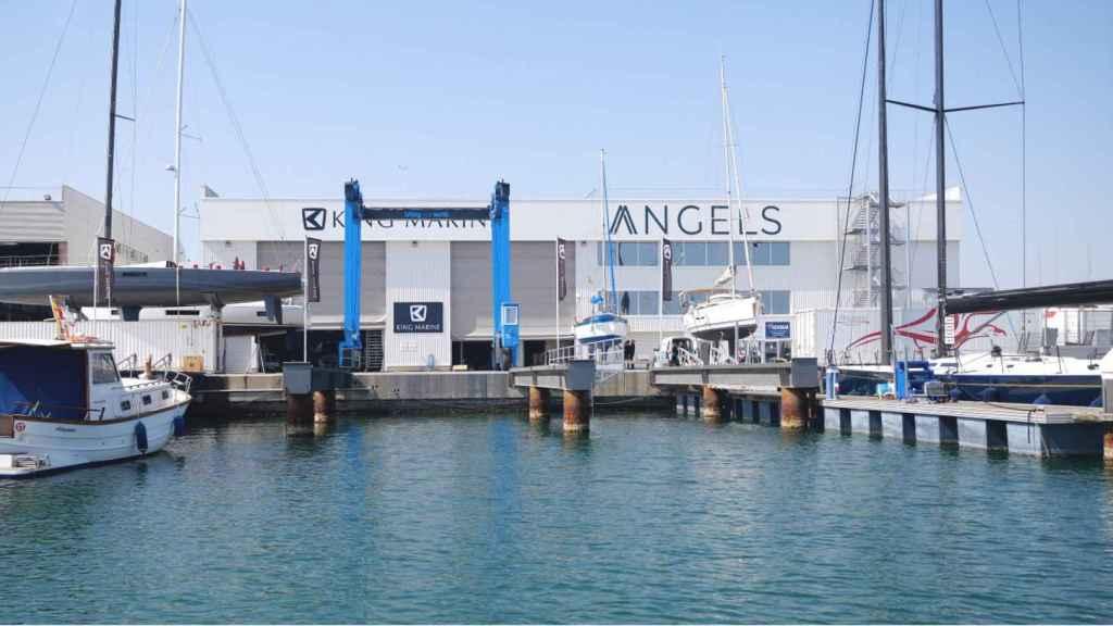 Nuevas instalaciones de Angels en la Marina de Valencia. EE