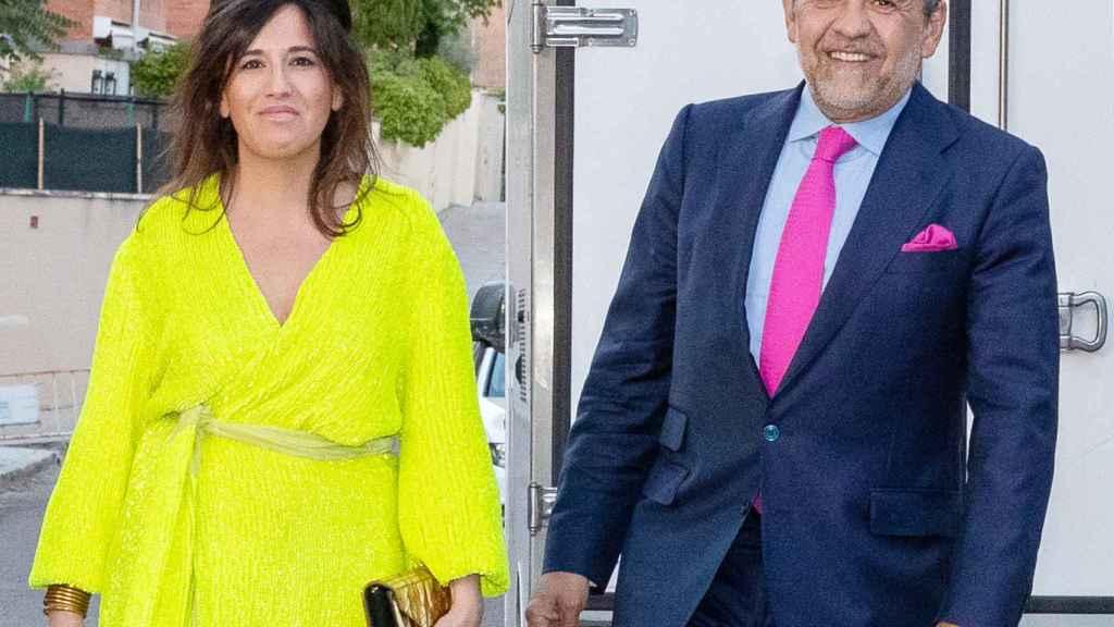 Jaime Martínez-Bordiú y Marta Fernández en una imagen de archivo fechada en junio de 2019.