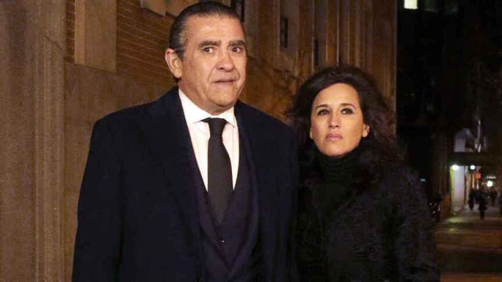 Jaime junto Marta Fernández en imagen de archivo.