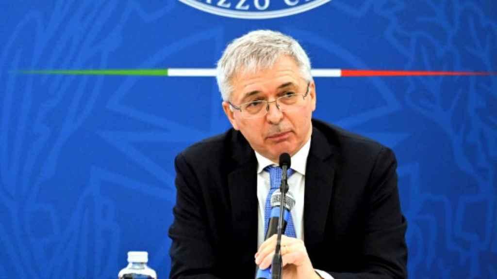 El ministro de Economía de Italia, Daniele Franco.