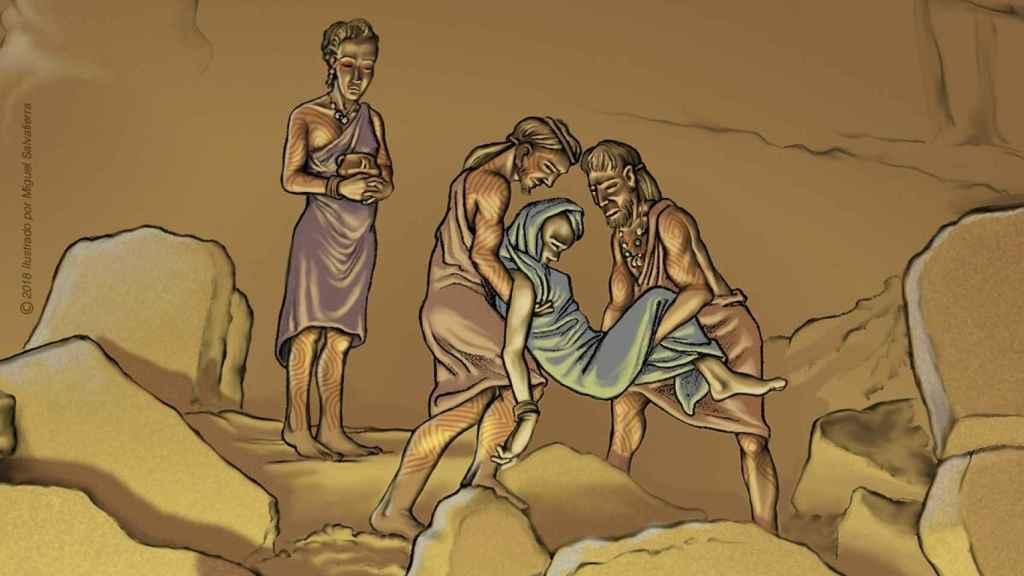 Prácticas funerarias en la Cueva del Toro (Antequera) en el Neolítico Antiguo.