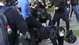Agresiones a la policía en Vallecas.
