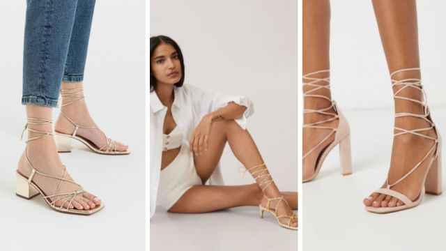 Los 7 pares de sandalias de tiras anudadas al tobillo que no vas a querer quitarte en los días de sol