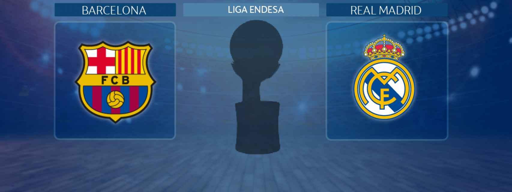 Barcelona - Real Madrid, partido de la Liga Endesa