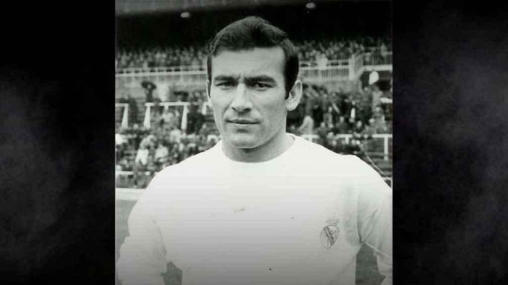 Antonio Calpe, durante su etapa en el Real Madrid