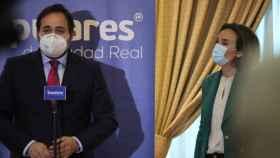 Paco Núñez, presidente del PP de Castilla-La Mancha, este miércoles en Ciudad Real
