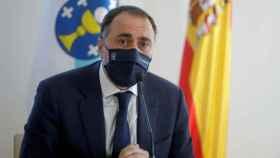 El Consejero de Sanidad de la Xunta de Galicia, Julio García Comesaña.