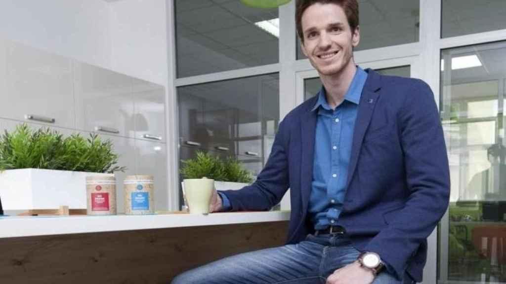 Stipe Rezic, fundador de la startup croata Mushroom Cups