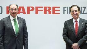 Ignacio Sánchez Galán, presidente de Iberdrola, y Antonio Huertas, presidente de Mapfre.