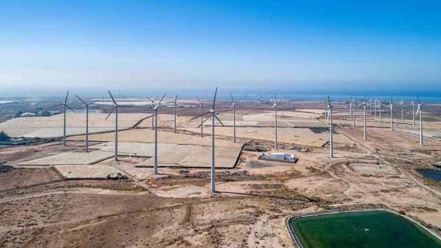 Un parque de renovables de Ecoener en una imagen de archivo.