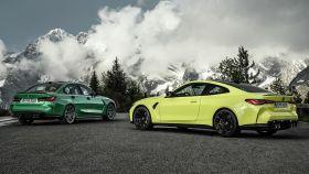 Los BMW M3 y M4 Competition son las versiones más potentes de esta berlina y coupé.