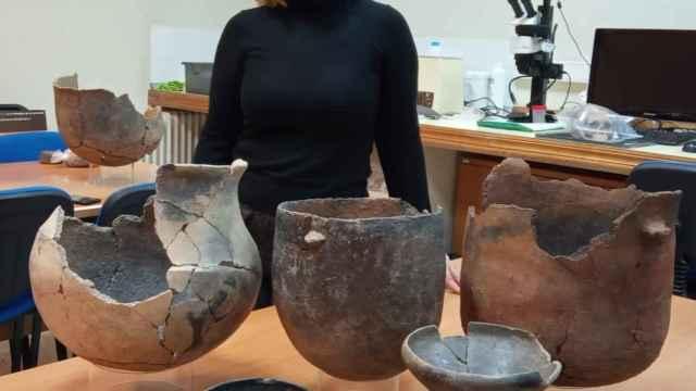 La arqueóloga Marga Sánchez Romero.