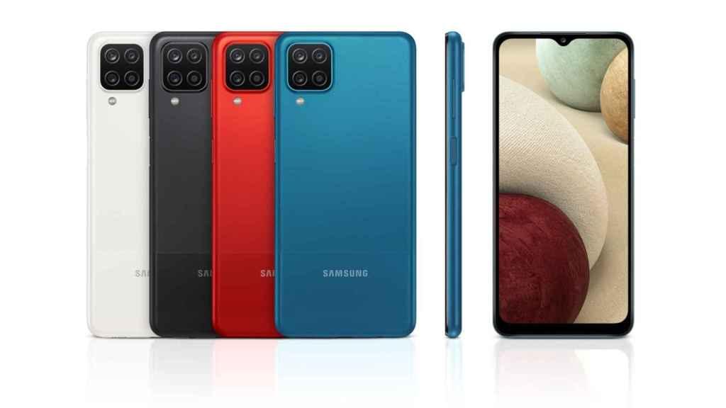Así es el Samsung Galaxy A12.