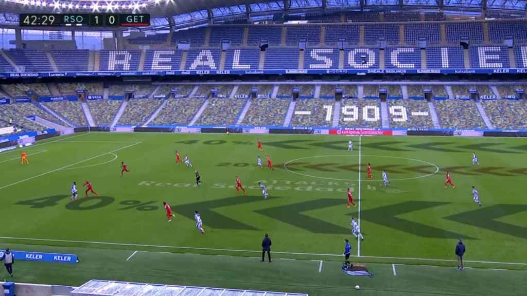 Mediacoach also offers the video feed from the tactical camera.