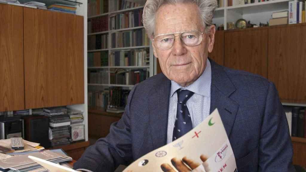 El teólogo Hans Küng, en una foto de archivo.