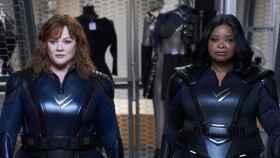 Melissa McCarthy y Octavia Spencer protagonizan 'Patrulla Trueno'.