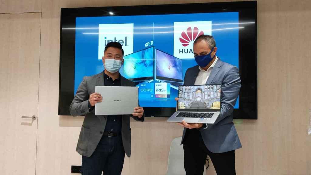 Presentación del Huawei MateBook D15