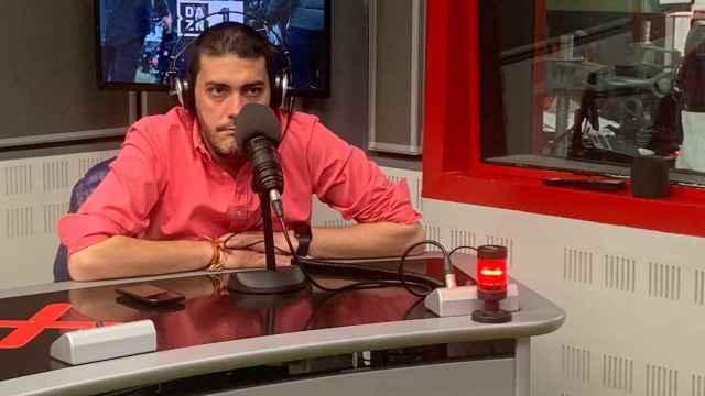 Jorge Calabrés, en un estudio de Radio MARCA