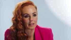 Rocío Carrasco, durante su documental, 'Rocío, contar la verdad para seguir viva'.